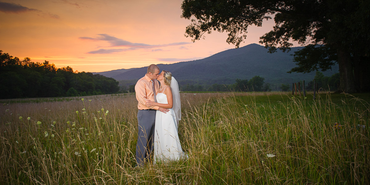 Tennessee Cades Cove wedding package