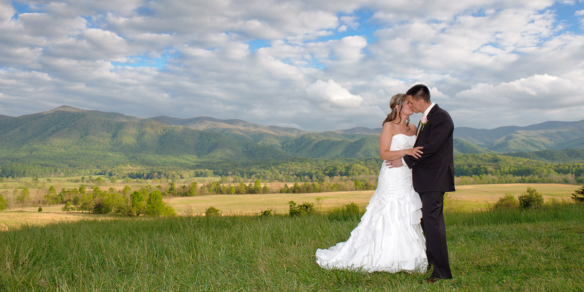 Wedding in Cades Cove Great Smoky Mountains