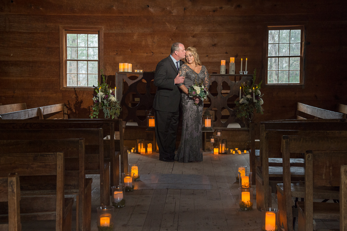 Cades Cove Primitive Baptist Church wedding