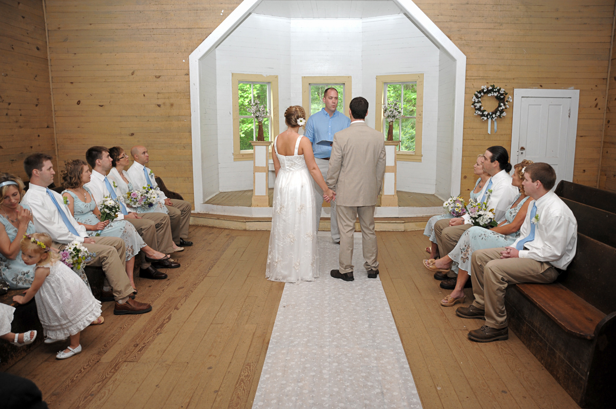 Cades Cove Wedding package in the Great Smoky Mountains