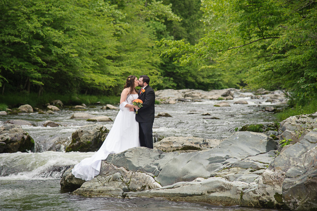 destination elopement in Gatlinburg