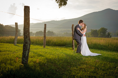 Intimate elopement in Cades Cove