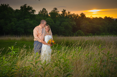 Cades Cove Wedding Ceremony