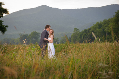 Cades Cove wedding in the Smokies