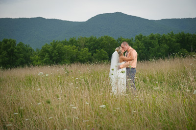 Cades Cove Wedding near Gatlinburg