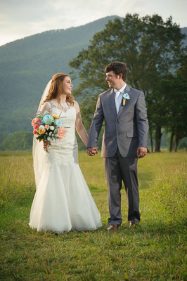 Intimate Gatlinburg elopement in Cades Cove