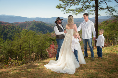 Gatlinburg Outdoor wedding venue