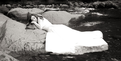 Smoky Mountain trash the dress
