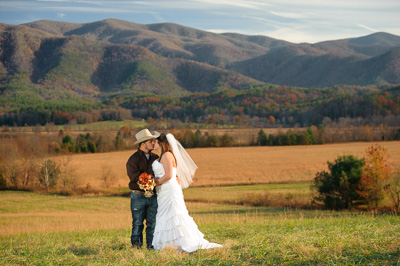 Cades Cove Overlook Wedding