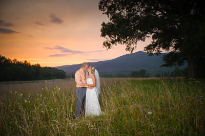 Cades Cove LeQuire Field Wedding