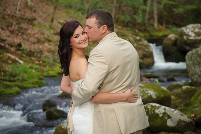 Gatlinburg Creekside Wedding