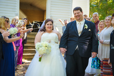 Cades Cove Historic Church Wedding