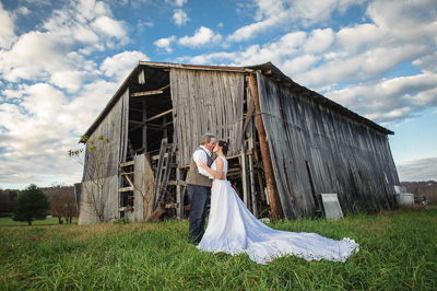 Gatlinburg rustic Barn Wedding