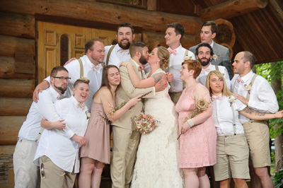 Gatlinburg Wedding Party Fun