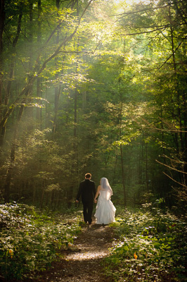 Smoky Mountain National Park Wedding