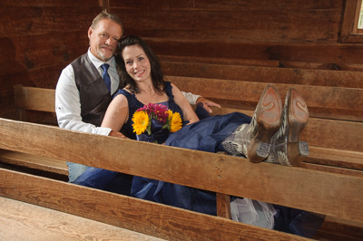 Smoky Mountain Primitive Baptsit Church wedding
